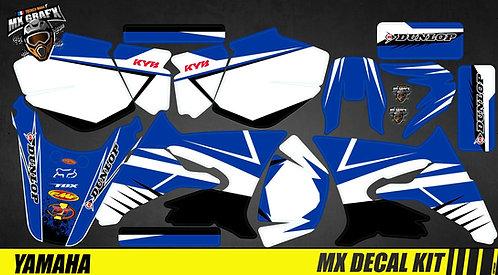 Kit Déco Moto pour / Mx Decal Kit for Yamaha DT 50 - Blue