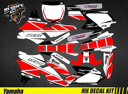 Kit Déco Moto pour / Mx Decal Kit for Yamaha - Replica_2016