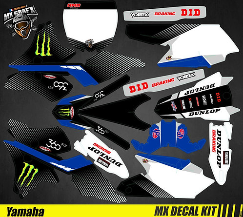 Kit Déco Moto pour / Mx Decal Kit for Yamaha - 360_Fly