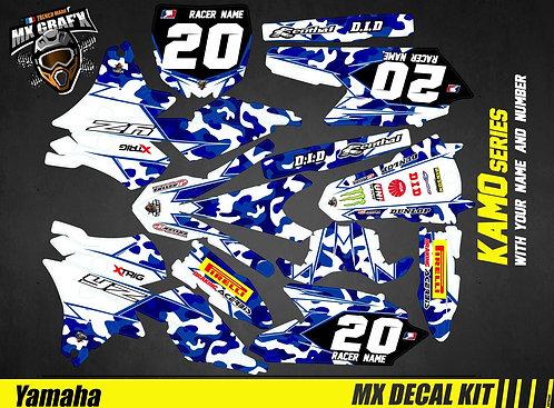 Kit Déco Moto pour / Mx Decal Kit for Yamaha - Kamo