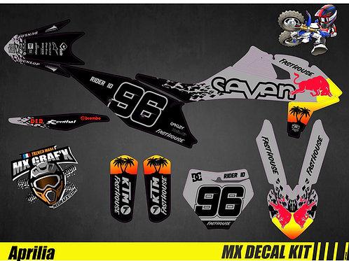 Kit Déco Moto pour / Mx Decal Kit for KTM - Grey