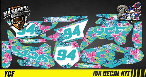 Kit Déco Moto pour / Mx Decal Kit for YCF - Aloha