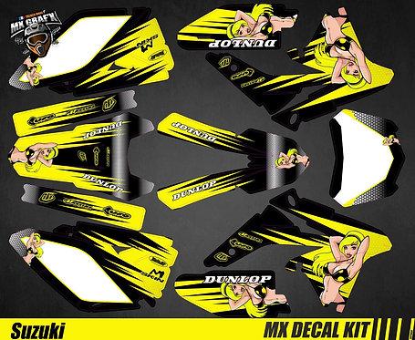 Kit Déco Moto pour / Mx Decal Kit for Suzuki - Sexy