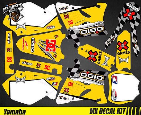 Kit Déco Moto pour / Mx Decal Kit for Yamaha - Ogio