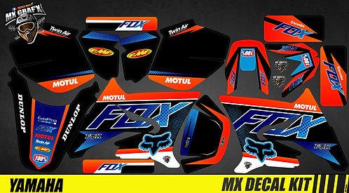 Kit Déco Moto pour / Mx Decal Kit for Yamaha DT 50 - Fox