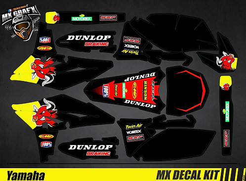 Kit Déco Moto pour / Mx Decal Kit for Yamaha - Red_Bull