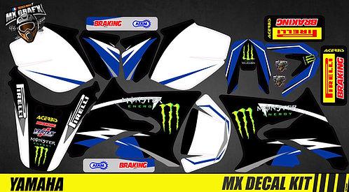 Kit Déco Moto pour / Mx Decal Kit for Yamaha DT 50 - Monster_3