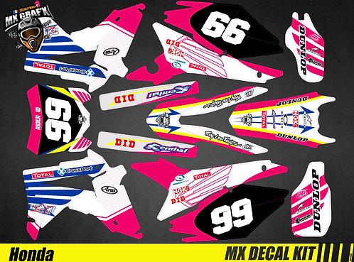 Kit Déco Moto pour / Mx Decal Kit for Honda CR/CRF - Tesport