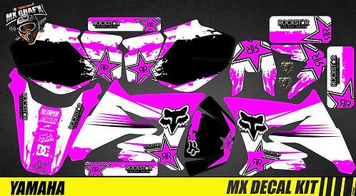 Kit Déco Moto pour / Mx Decal Kit for Yamaha DT 50 - Pink_Fox