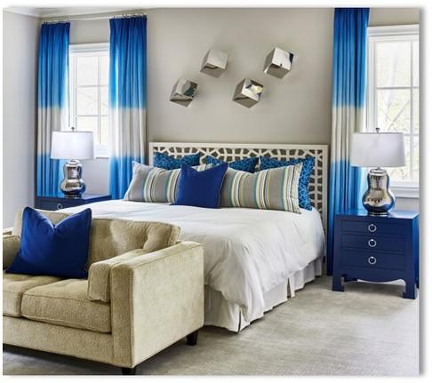 Guest Bedroom - Blue Room