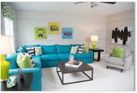 Yates Mill - Living Room