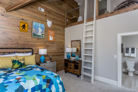 Boy Scout Inspired Bedroom