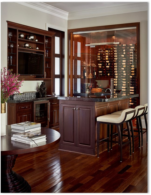 Wine Room and Wet Bar