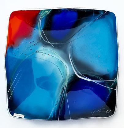 Abstrakt fargeglede large