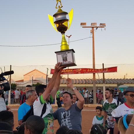 Santa Luzia campeão Paulistano 2017