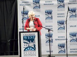 Sen. Mayne hears teachers' pleas, gains another $300,000 to combat gang activity