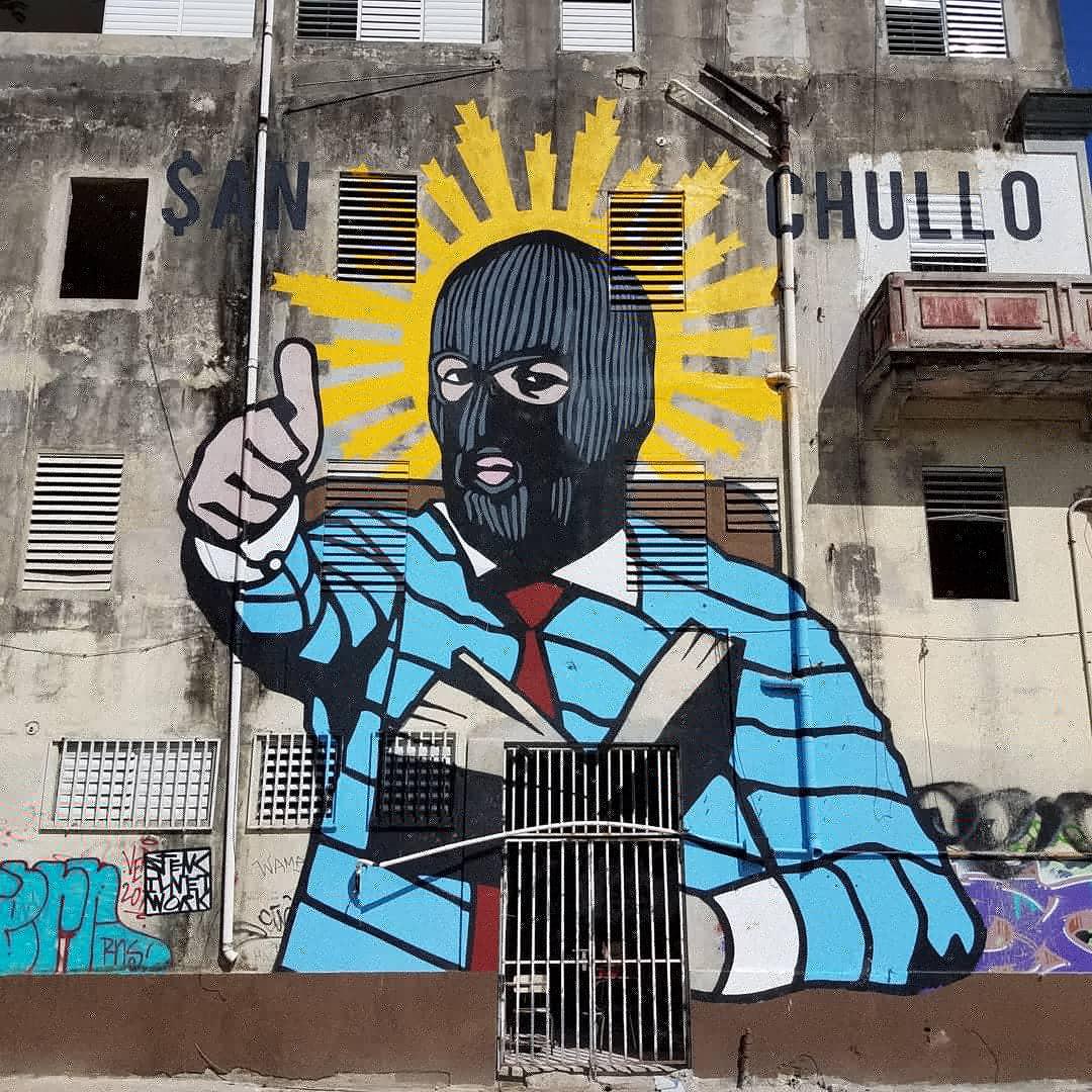 """""""San Chullo"""", The Stencil Network"""