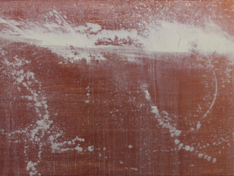 Horizontal Brown; oil on canvas; 40 x 60 in; 2017