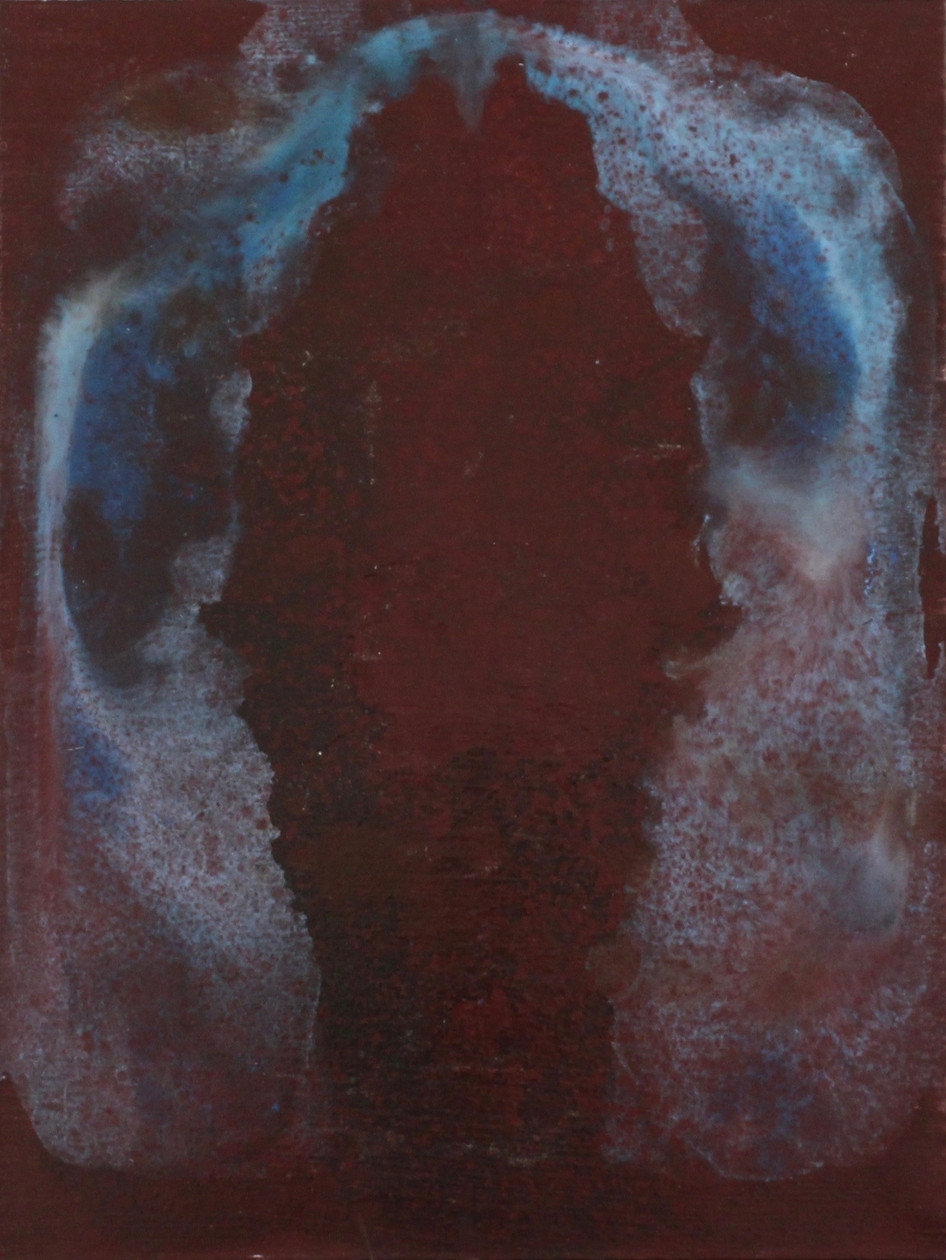 Middle Way III; oil on canvas; 24 x 18 in; 2016