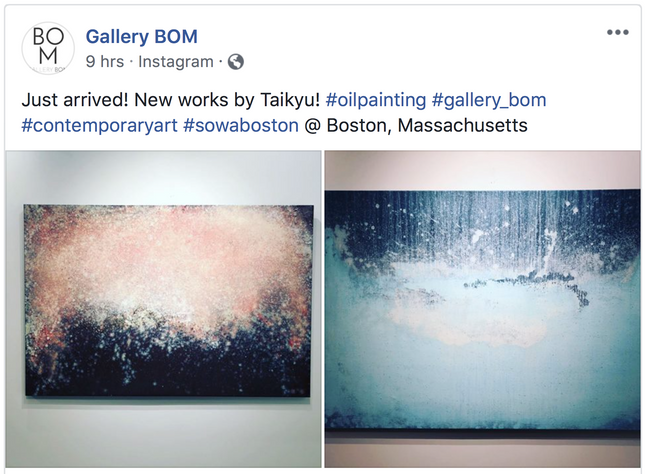 Recent works at Gallery BOM