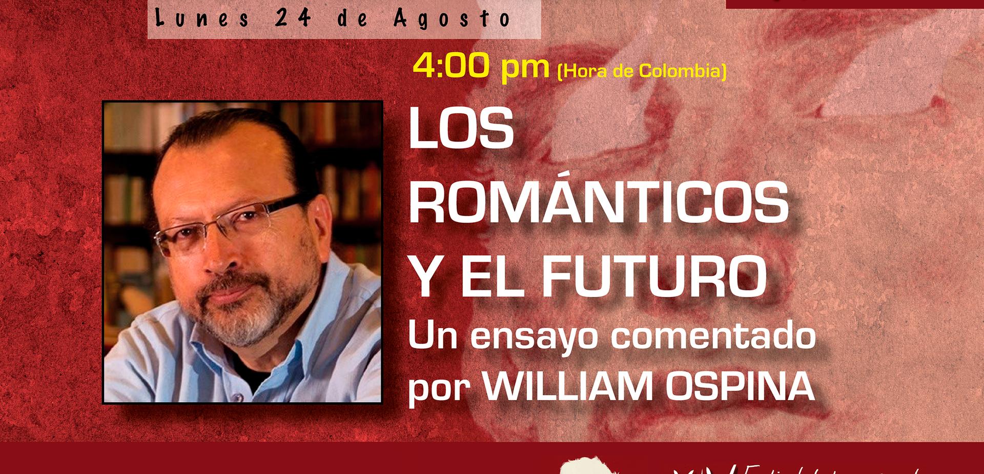 Conferencia William Ospina 24 de Agosto.