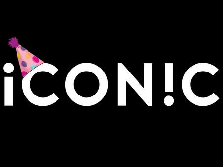 Happy First Birthday Iconic Design