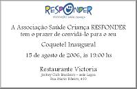 Coquetel Inaugural SC Responder