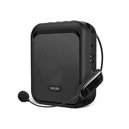 10W Wireless Voice Amplifier with Bluetooth Speaker Connectivity