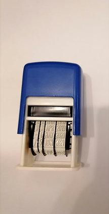 Date Stamp (Self-inking mini date stamper)