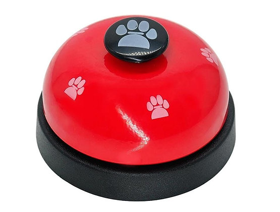 Desk Call (Reception) Bell/Chime - Assorted Colour - Dog Paws