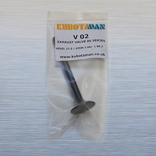 Exhaust Valve '05 series engines