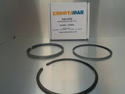 Piston Rings to suit a D1403, V1903 Kubota Engine