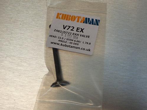 Exhaust Valve Z400, Z482,D600, D722 & D782 engine