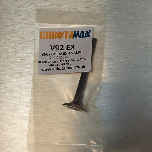 For Z602, D902 engines