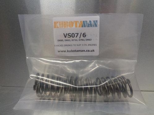 For D600, D662, D722, D782, D902 Engines