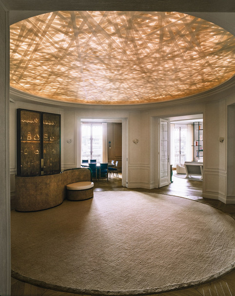 Featured Rug in Architectural Digest