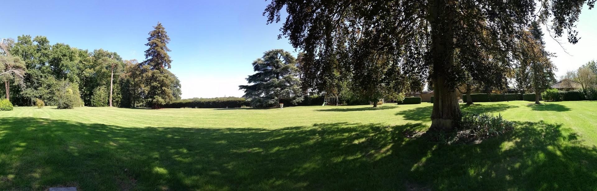 Panoramique du parc