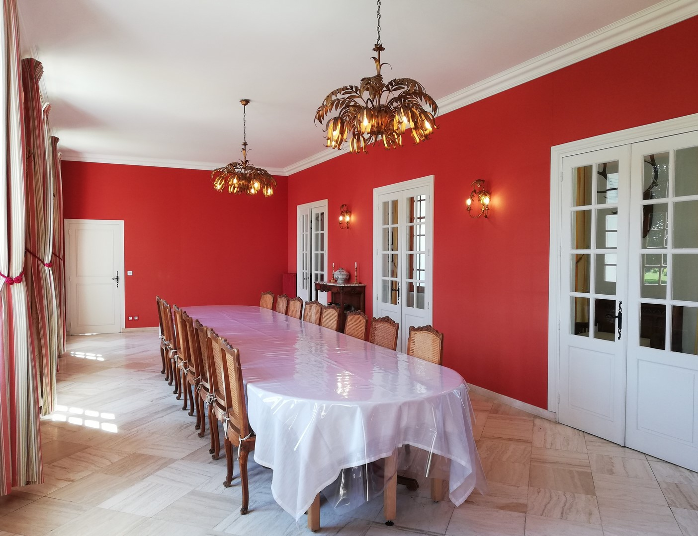 Château - salle à manger