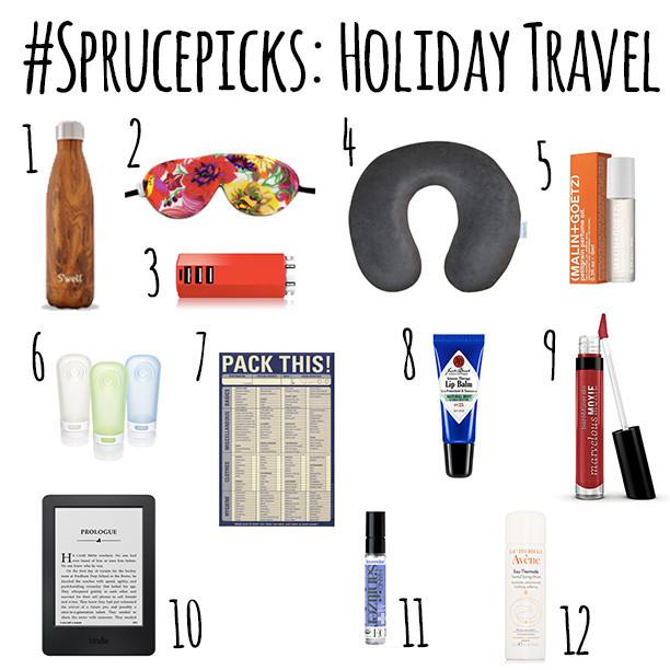 #SprucePicks: Holiday Travel