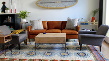 Beach House Remodel: Living Room