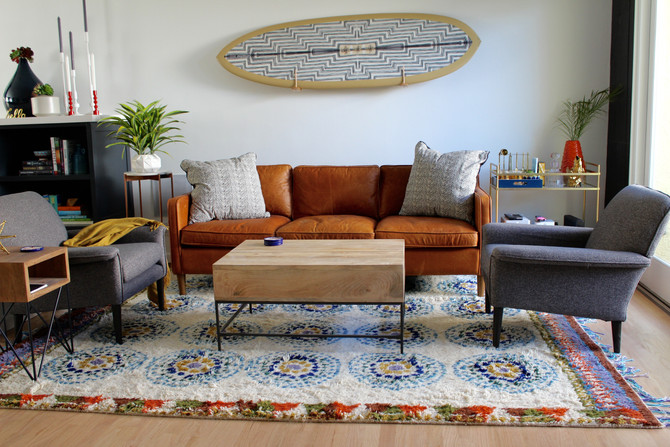 Beach House Remodel: Living Room