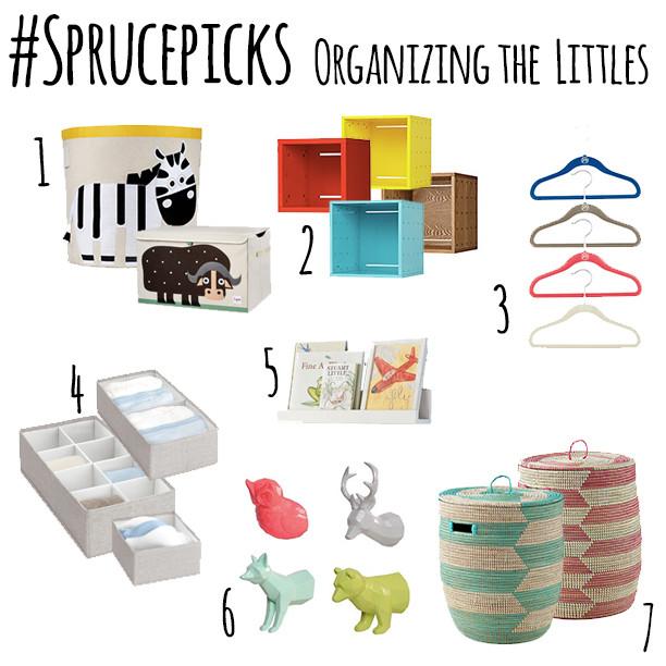 #Sprucepicks: Organizing the Littles