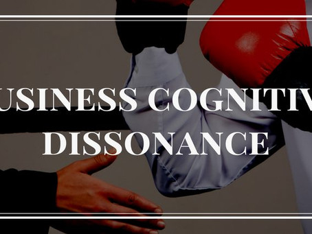 Cognitive Dissonance in Business