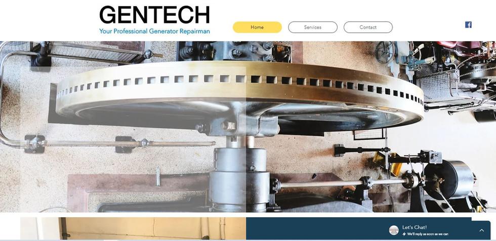 Generator Repair Website
