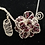 Thumbnail: Garnet Rose Necklace