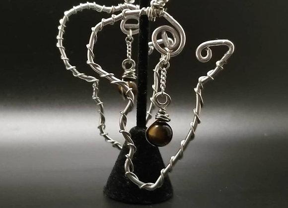 Africa Wire Earrings