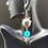 Thumbnail: Sequins Flowers Earrings