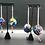 Thumbnail: Rainbow Sequin Ball Earrings