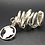 Thumbnail: Silver Africa Loc Ring (M-L)