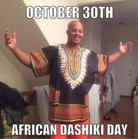 International Dashiki Day